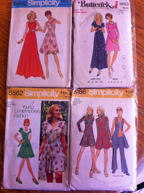 Vintage 60s  Patterns