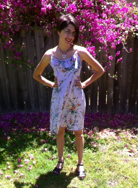 Derby Dress by Christine Haynes