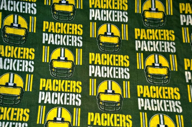 Packers Fabric