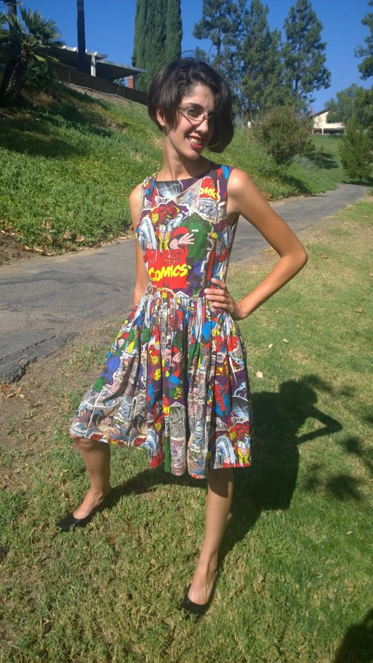 DC Comic Dress