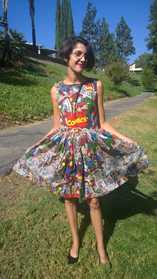 Super Here Comic Dress
