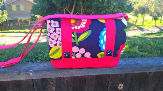 Messenger Bag By Betz White
