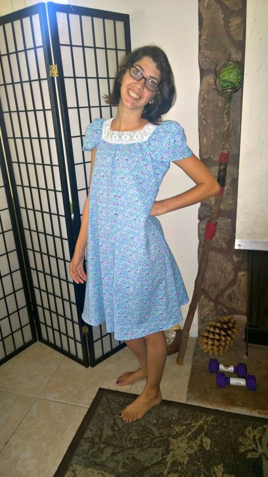 Downton Abbey Inspired Nightgown