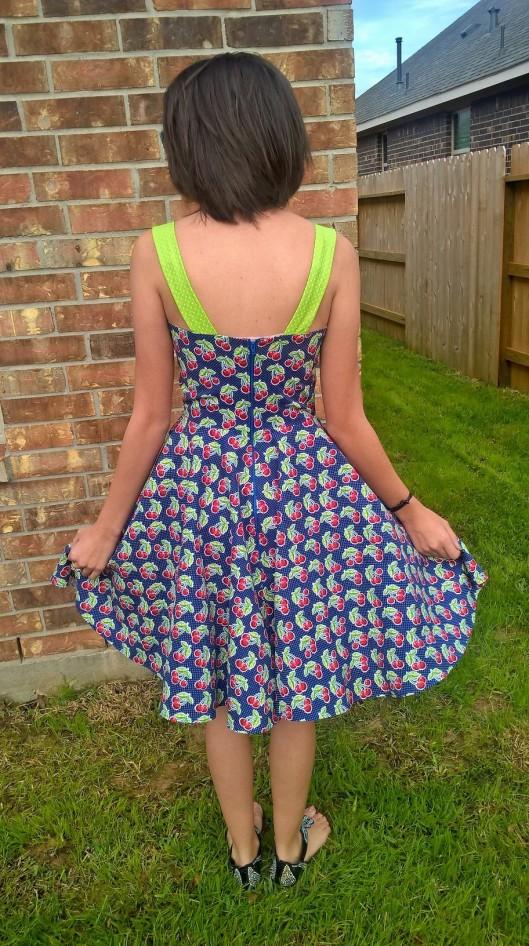 Cherry Dress Back1
