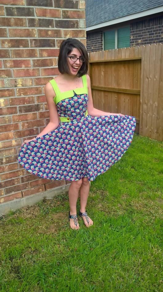 Cherry Dress Main