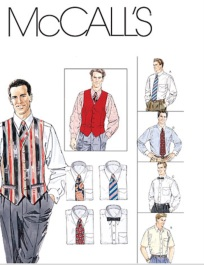 Men_s_Lined_Vest__Shirt__Tie_In_Two_Lengths_and_Bow_Tie-Z__XLG-XXL-XXXL__Pattern___JOANN